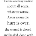 Quote about Scars