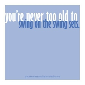 Quote About Swinging