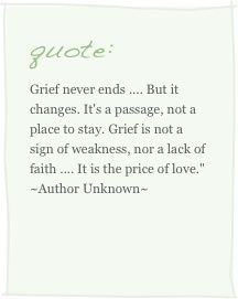 Quote About Grief