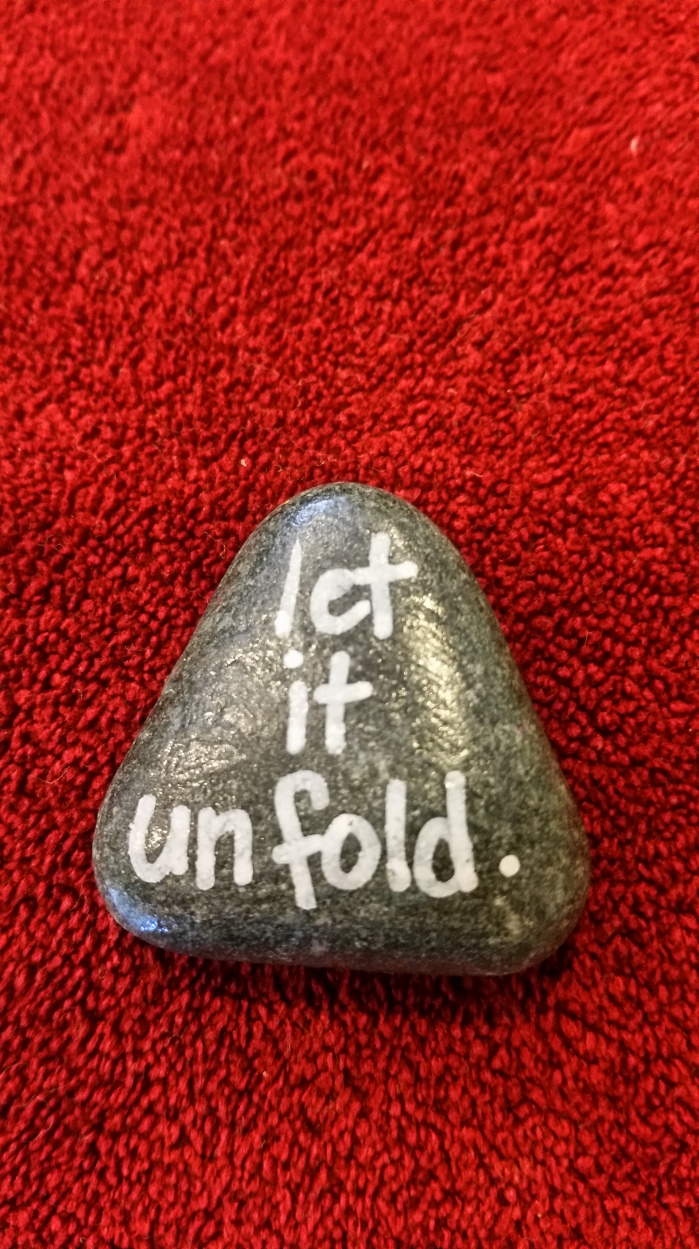 Let It Unfold on a Triangular Rock