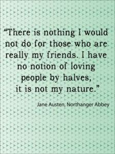 Jane Austen Quote About Friends
