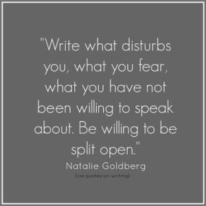 Natalie Goldberg Writing Quote