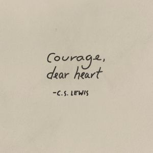 C.S. Lews Quote About Courage