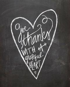 Heart On A Chalkboard