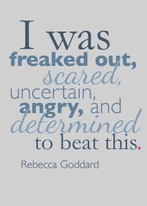 Rebecca Goddard Quote