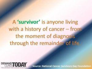 Cancer Survivor Quote