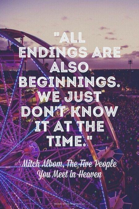 Begin. End. Repeat.