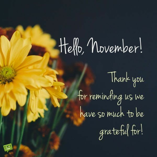 Gratitude, Aisle One