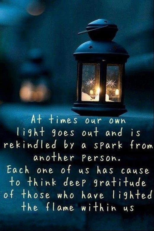 Gratitude-You Light Up My Life